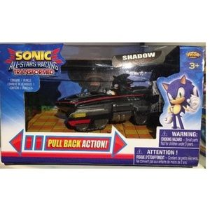 Sonic All Stars Racing Pull Back Action - Shadow